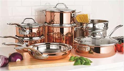 viking  piece tri ply copper cookware set review phoenix cooks