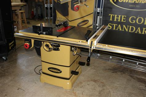 powermatic table saw pm1000 new tools from jet and powermatic the wood whisperer