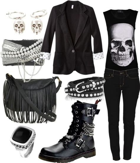 Rock outfit on Tumblr