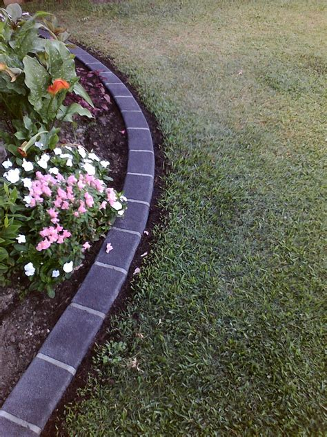 concrete lawn edging precast concrete lawn edging composite landscape edging photo with precast concrete lawn edging
