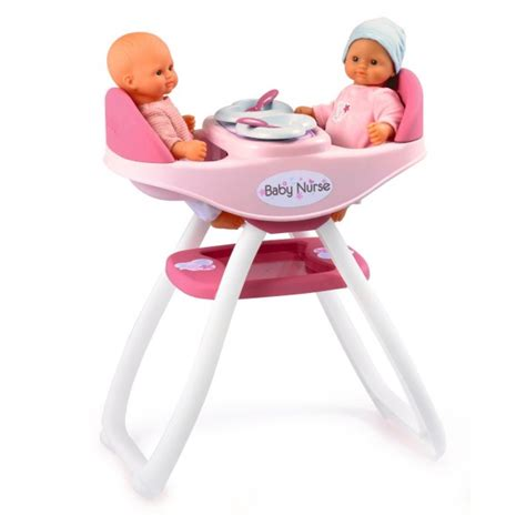 chaise haute jumeaux baby chaise haute jumeaux de smoby
