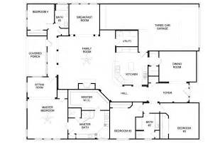 4 bedroom single house plans home design 79 terrific house plans single storys