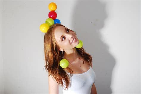 plastic play ball headdress  recycled headband