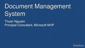 sharepoint 2013 document management features With document management system microsoft