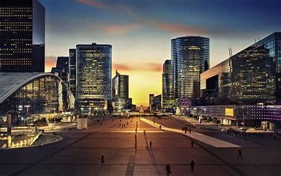 Paris Defense Modern Architecture France Business Square