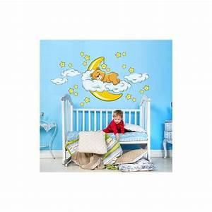 Sticker Chambre Bebe : stickers ourson chambre enfant petits prix de folie ~ Melissatoandfro.com Idées de Décoration