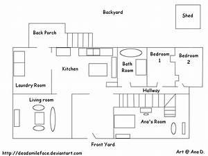 INSIDE MAP OF ANA'S HOUSE by cartoonscutie on DeviantArt