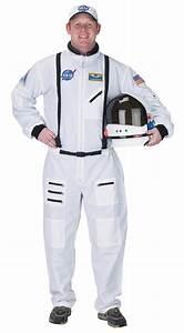Adult Astronaut Suit White, NASA uniform & mens Halloween ...