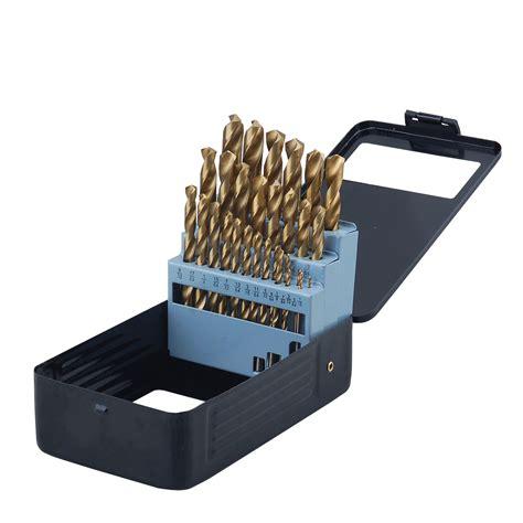 professional woodworker  piece drill bit set black ebay