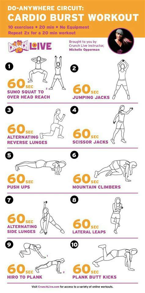 Hiit Cardio Workout Health Equipment