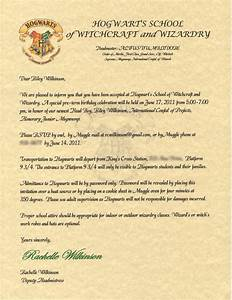 wilkinsonquints riley39s harry potter birthday With harry potter hogwarts invitation letter