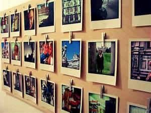 Foto Deko Ideen : polaroid deko zum selbermachen deko ideen mit polaroids ~ Watch28wear.com Haus und Dekorationen