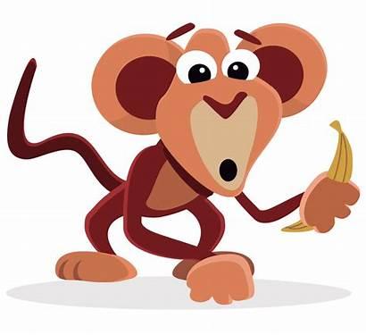 Animated Funny Monkey Clipart Transparent Animation Banana