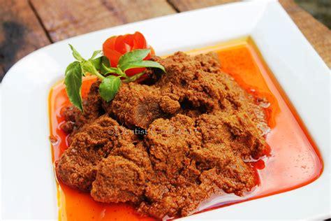 jakarta cuisine resep kalio brown rendang or stewed beef in
