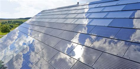 elon musk announces solar roof product tesla solarcity