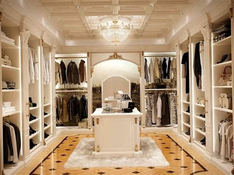 Walk In Wardrobe Design by 37 Luxury Walk In Closet Design Ideas And Pictures