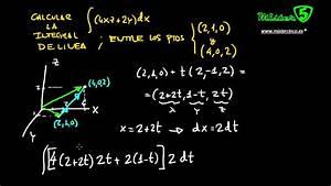 Integral De Linea De Una Funci U00d3n Entre Dos Puntos