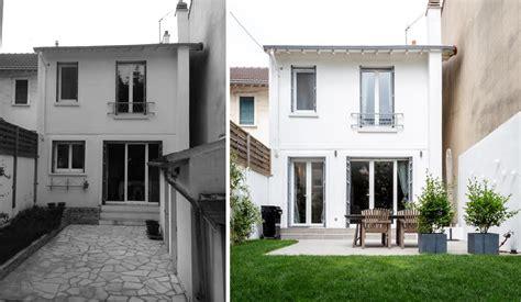 Avant  Après  Rénovation D'une Maison De Ville Avec Un