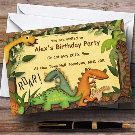 17+ Dinosaur Birthday Invitations How To Sample Templates