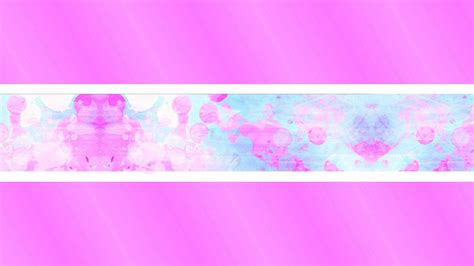 pinkblue youtube banner template imgbbcom imagens
