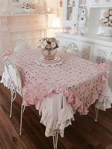 Was Ist Shabby Chic : 193 best images about table covers on pinterest runners slipcovers and ruffled tablecloth ~ Orissabook.com Haus und Dekorationen