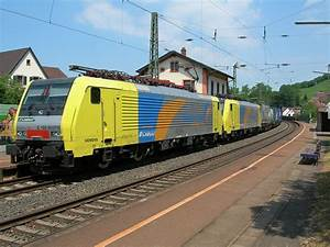 FM Cargo locomotives E 189 with a cargo train by Bad ...