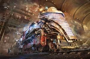 Creating a Steampunk World in Blender (Station 45), Q&A ...  Steampunk