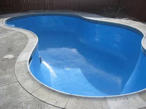 custom pools epoxy pool painting