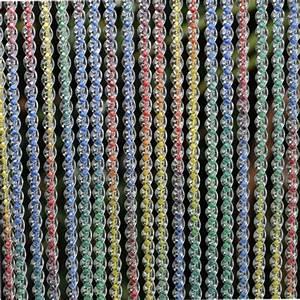 Rideau De Porte Fantaisie : rideau torsad translucide et multicolore sur mesure ~ Premium-room.com Idées de Décoration
