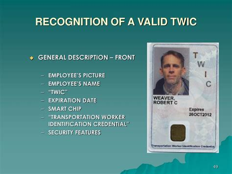 Tsa conducts a security threat. Transportation Worker Identification Credential Program - Transport Informations Lane