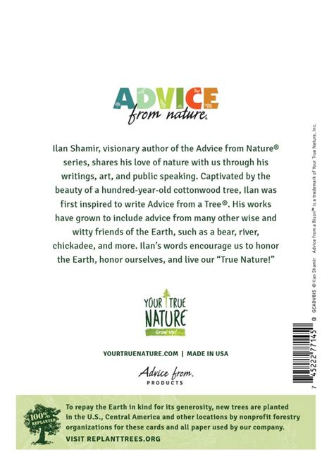advice bison greeting card blank true nature