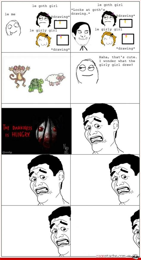 Funny Memes Comic - page 4 rage comics ragestache pinpoint