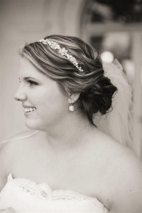 wedding updos  veil  headband fade haircut