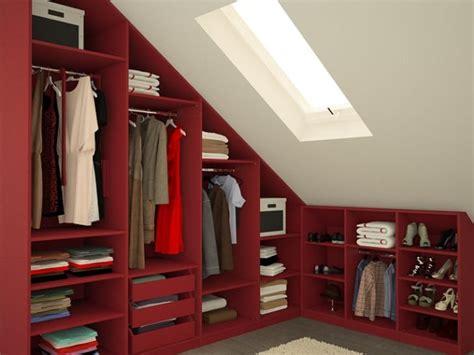 Einfach Schraeg Moebel Fuers Dachgeschoss by Begehbarer Kleiderschrank Dachschr 228 Ge Meine M 246 Belmanufaktur