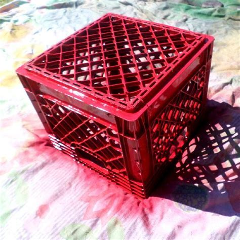 Hometalk   DIY Crate Stools for Toy Storage