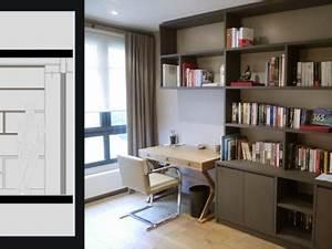 bibliotheque avec bureau integre 28 images le bureau With tapis champ de fleurs avec armoire lit escamotable avec canape