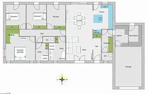 avis sur plan de maison plain pied de 126m2 23 messages With idee maison plain pied 10 plan maison r 1 160 m2