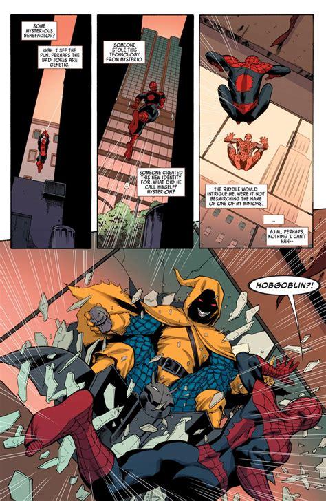 spider vs superior hobgoblin avenging comicnewbies