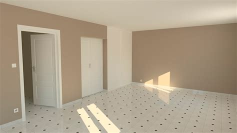 chambre du vide chambre en perspective