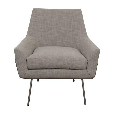 41 west elm west elm lucas grey wire base chair