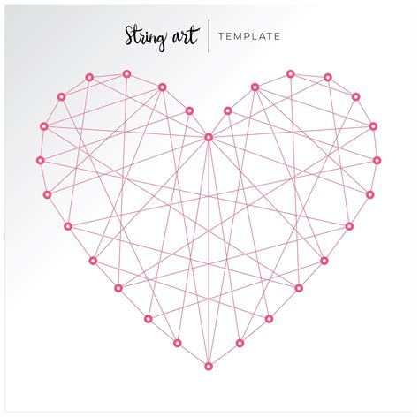 string art templates colorful happy layout