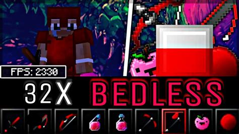 Bedless Noobs 15k 32x Mcpe Pvp Texture Pack Fps
