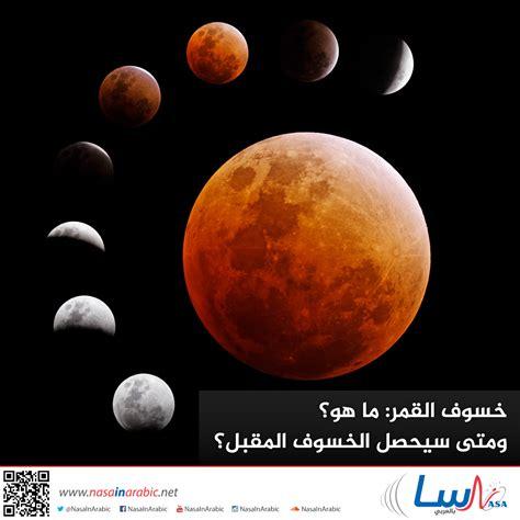 قال الرسول عليه الصلاة والسلام: ناسا بالعربي - ما هو خسوف القمر؟