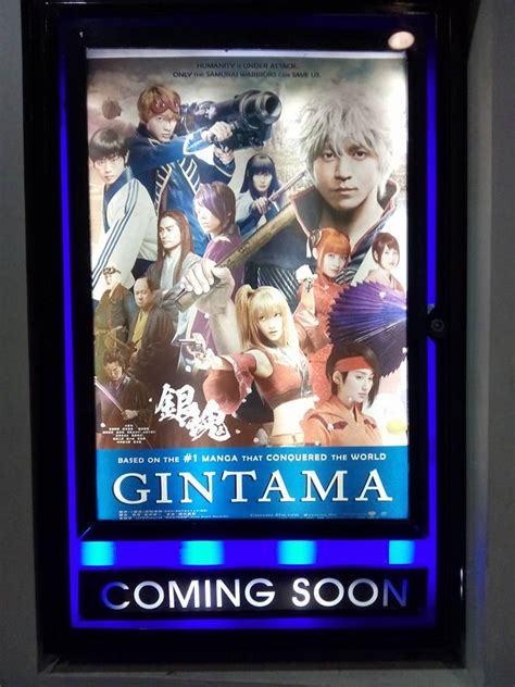 promotional posters  gintama  action