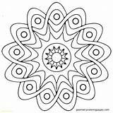 Mandala Coloring Pdf Pages Printable Getcolorings sketch template