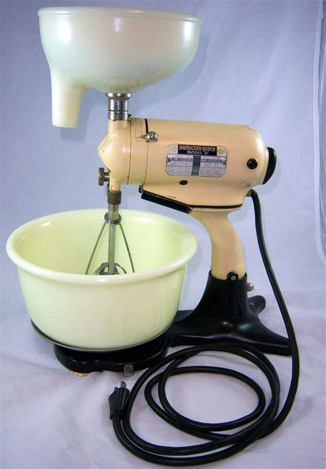 Vintage Hamilton Beach Model D Stand Mixer With RARE