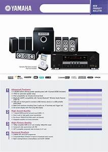 Yamaha Home Theater System Yht395 User Guide