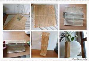 Objet Bambou Faire Soi Meme : diy d co r cup faire un vase avec un set en bambou st phanie bricole ~ Melissatoandfro.com Idées de Décoration