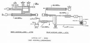 Dixon Ztr 429  1992  Parts Diagram For Wiring Assembly