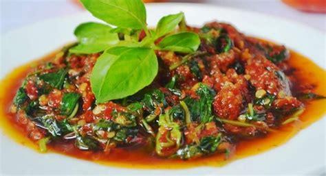 4 siung bawang merah 5. MANTAP Resep Sambal Enak Kemangi Tempe Goreng Pedas Tanpa Tomat + VIDEO